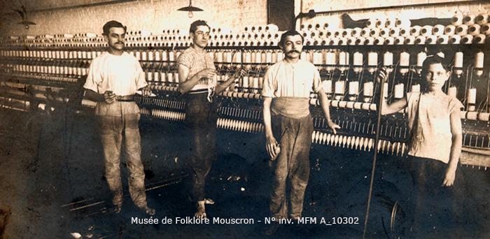 A 10302 mouscron musee de folklore ouvriers d usine