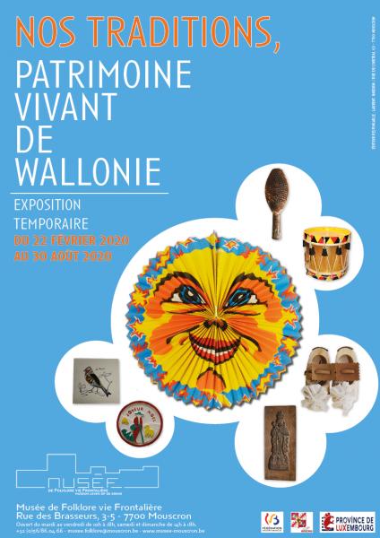 Nos traditions, Patrimoine vivant de Wallonie