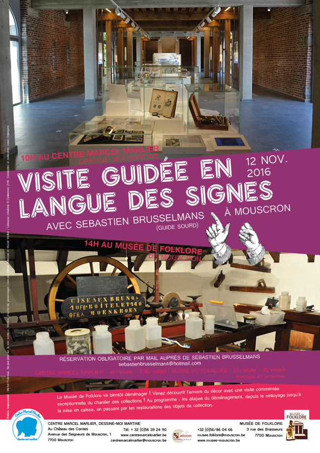 Affiche visite guidee