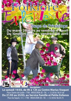 Stages printemps 2016